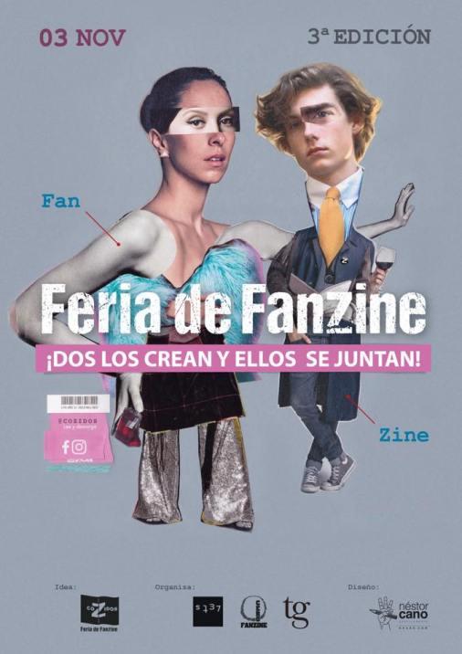 coZidos Fanzine Cartel 2018 Nestor Cano Tebu Guerra